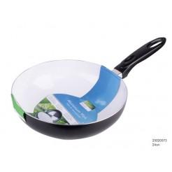 Wokpan Ceramic Basic wit 24 cm