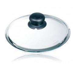 Pyrex deksel glas met stoomknop 26cm