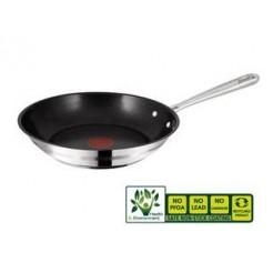 Tefal E85606 Jamie Oliver Stainless Steel Koekenpan 28 cm