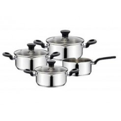 Tefal A611S424 4-delige Kookset Duetto RVS