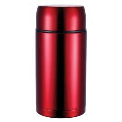 Bergner Roestvrijstalen thermosfles 1 liter (rood)