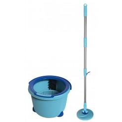 Aqua Laser Spinmop blauw