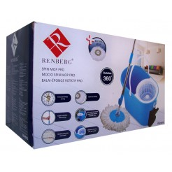 Renberg  Vloermopset Pro 2-in-1 (blauw)