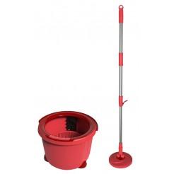 Aqua Laser Spinmop rood