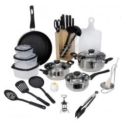 Excellent Houseware Keuken-startersset (25 delig)