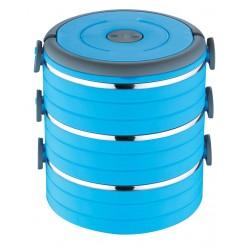 Renberg Lunchbox met 3 vakken (blauw)