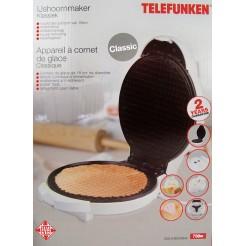 Telefunken IJshoorn / oublie-maker (750W)