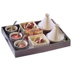 Cuisine  Aperitief -Tajin set (15 delig)