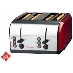 Telefunken Roestvrijstalen toaster 1500W (4 boterhammen)