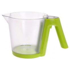 Digitale keukenweegschaal / maatbeker (wit)