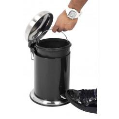 Excellent Houseware  Pedaalemmer 3 liter (zwart)