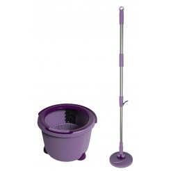 Aqua Laser Spinmop lila